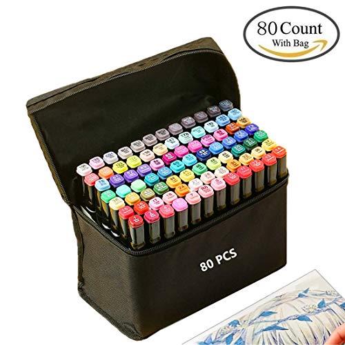 Graffiti Pen 80 colores Grasa marca colores Conjunto