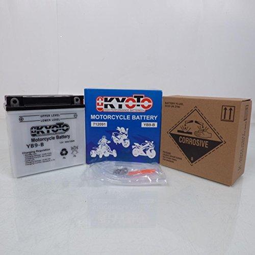 Batteria Kyoto Moto Kawasaki 125BN Eliminator 1997a 2007YB9-B nov