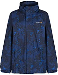 Regatta Great Outdoors - Chaqueta impermeable modelo Overchill para niños (32/Azul marino)