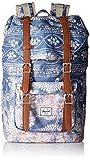 Herschel Little America Mid-Volume Rucksack blau/weiß / braun, OneSize