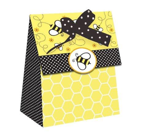 Baby Dusche Buzz 12Zählen die cut Favor Taschen (Bumble Bee Baby-dusche)