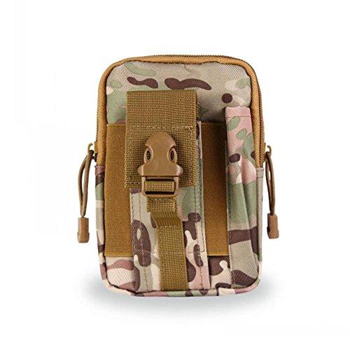 Tactical MOLLE EDC Tasche Kompakt Outdoor Mehrzweck-Utility Gadget Werkzeug Gürtel Taille Pack Wee Tasche für Camping und bushcraft CP