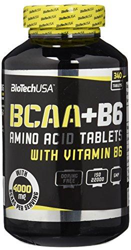 BioTech BCAA+B6 Aminoácidos Ramificados