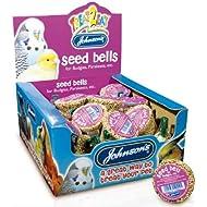 Budgie & Parakeet Seed Bells 34g - Johnsons (TP)(JBHBE) FULL BOX 27