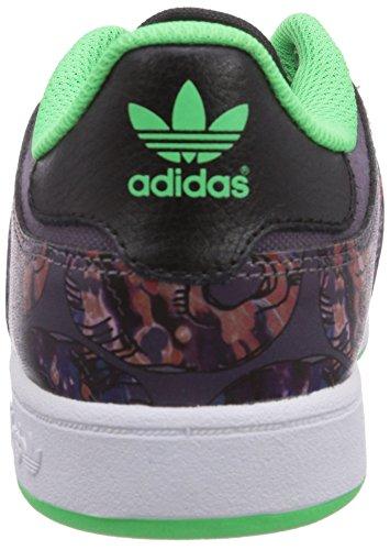 adidas Varial Low, Senakers a Collo Basso, Unisex Nero (Core Black/Ash Purple S15-St/Flash Green S15)