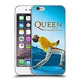 Head Case Designs Ufficiale Queen Freddie Mercury Live At Wembley Arte Chiave Cover in Morbido Gel Compatibile con iPhone 6 / iPhone 6s