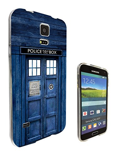 567 - Doctor Who Tardis Police Call Box Design Samsung Galaxy S5 Mini Fashion Trend Silikon Hülle Schutzhülle Schutzcase Gel Rubber Silicone - S5 Box Andere Case