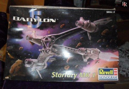 Preisvergleich Produktbild Babylon 5: Starfury MK1 / Modell-Bausatz / Revell / 1 / 72 (23 cm)