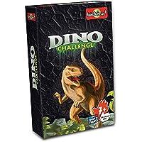 Asmodée Juego de Cartas Dino Challenge, Color Negro DIN03