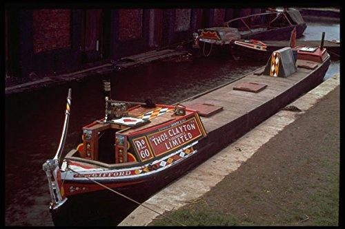 491017 Narrow Boat _Gifford_ Ellesmere Port Boat Museum UK A4 Photo Poster Print 10x8 Ellesmere Port