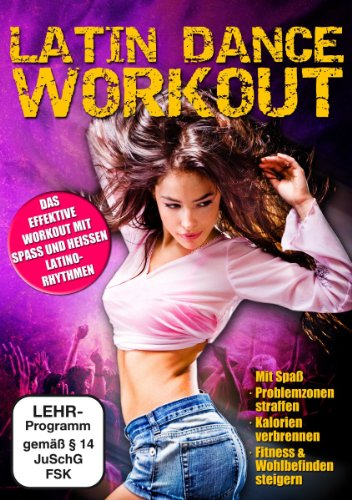 Latin Dance Workout mit Ines Vogel (Dvd Musik Mit)