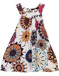 537911ca1 Amazon.es: vestidos bohemios - Vestidos / Niñas de hasta 24 meses: Ropa