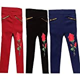 #10: RZ lecort Party WEAR & Casual Jegging for 1-2 Year Baby Girl (Pack of-3)