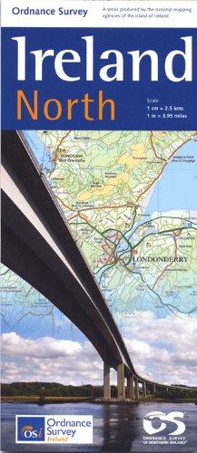 Travel Map Ireland North 1 : 250 000 (Irish Maps, Atlases and Guides) por Ordnance Survey of Northern Ireland