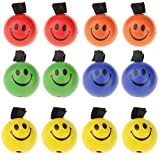 Imported Set of 12 PU Sponge Ball With Elastic String Bouncing Ball Assorted Color