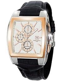 Jorg Gray Herren-Armbanduhr XL Multi-Function Watch Chronograph Leder JG6300-38