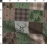 Tarnfarbe, Rustikal, Wald, Wholecloth, Jagd, Stoffe -
