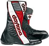 Daytona Security Evo G3 Racing Stiefel 43 Schwarz/Rot