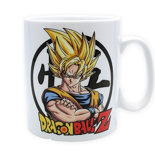 Dragonball Z - Keramik Tasse Riesentasse 460 ml - Son Goku - Super Saiyajin - - Dragon Ball Z Cell Kostüm