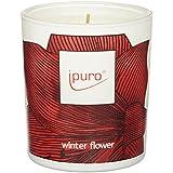 Ipuro Bougie parfumée hiver Flower, Lot de 2(2x 1pièce)