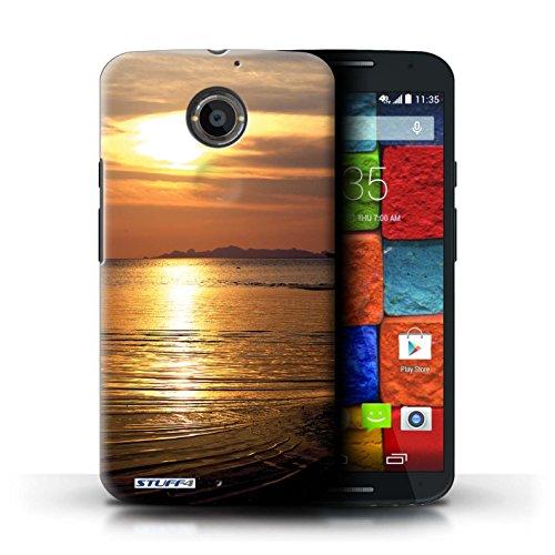 Kobalt® Imprimé Etui / Coque pour Motorola Moto X (2014) / mer conception / Série Coucher du Soleil mer