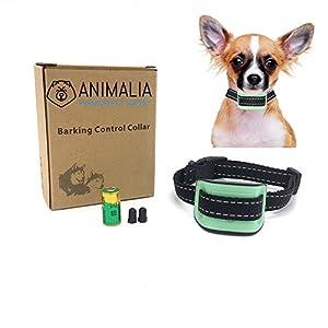 Collier Anti-Aboiement Animalia pour Petits Chiens - Collier de Dressage Efficace avec Son et Vibration
