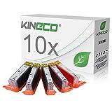 Kineco kompatibel zu Canon PGI-570 XL CLI 571 XL Druckerpatronen [10] für Canon Pixma MG5750 MG5751 MG5752 MG5753 MG6850 MG6851 MG6852 MG6853 TS5050 TS5051 TS5053 TS5055 TS6050 TS6051 TS6052