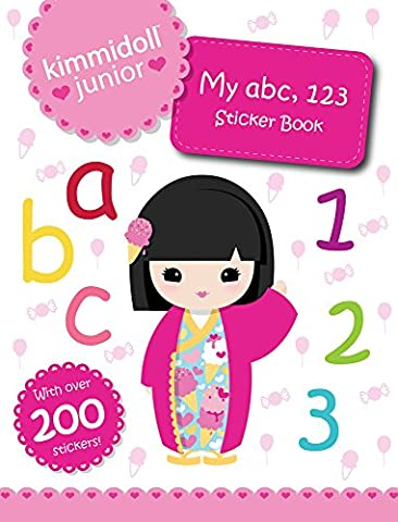 My abc, 123 Sticker Book (Kimmidoll (Abc Sticker Book)