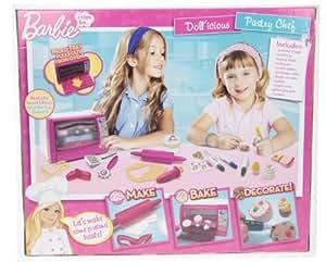 Conception enfants Barbie chef pâtissier Dollicious