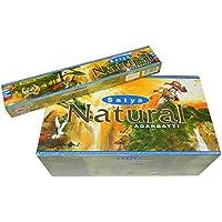 Räucherstäbchen Satya Natural 180g Nag Champa Duftnote 12 Schachteln Wohnaccessoire Raumduft Deko preisvergleich bei billige-tabletten.eu