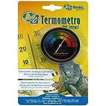 Termometro per terrari - Analogico, da attaccare all'interno della teca - Vasca Idromassaggio Termometro