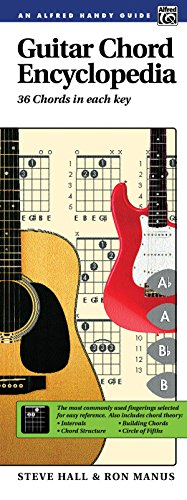 Guitar Chord Encyclopedia: 36 Chords in Each Key (Handy Guide)