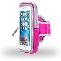 Premium Rosa Cerniera Sport Armband per Motorola Moto Z Play/G4Plus/Moto