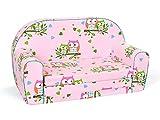MuseHouse Kinder-Schlafsofa Kindersofa Kindermöbel Komfort mit Stil (S208)