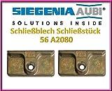 2x si Siegenia 56A2080Platte elektrische/Folio-Verriegelung der Fenster/Platte-Verschluss/Angriffsspieler UPVC. 2Stück.