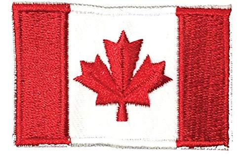 Parche bandera Canadá coser planchar