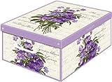 Collection Violette Serie violett 660VI Aufbewahrungsbox Parfümiert