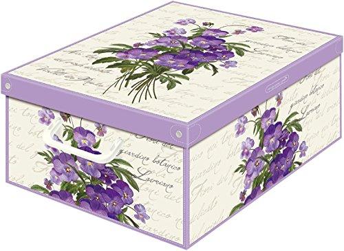 Collection Violette 660VI Boîte de Rangement Parfumé