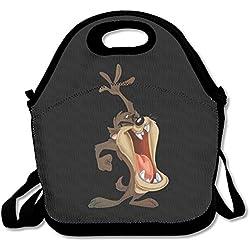 lygfdsss Taz demonio de Tasmania Looney Tunes-Lunch Tote bolsa para el almuerzo