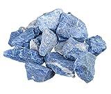 Sodalith unbehandelte Rohsteine Wassersteine 100% naturbelassen 300 gramm