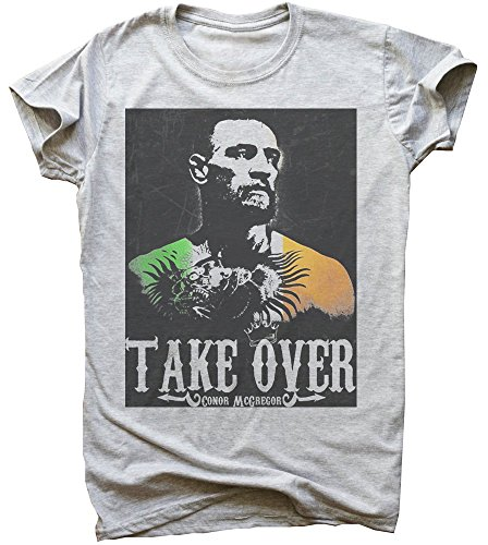Take Over Conor Mcgregor Men's T-Shirt Large