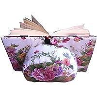 Coussin de lecture Belenci (fleurs) - Support pour livres pour lire au lit