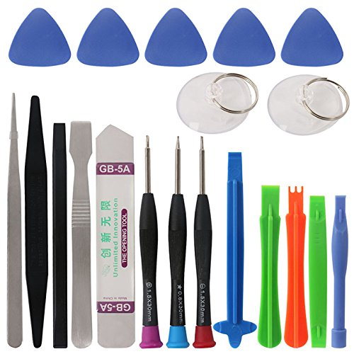 BDW Handy Werkzeug Reparatur Set für Smartphone Tablet iPhone Und Laptop Tool beinhaltet die wichtigsten Werkzeuge im Kit.