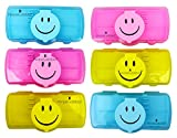 Best GENERIC Kids Birthday Gifts - PERPETUAL BLISS™ (PACK OF 6) FANCY SMILEY PENCIL Review