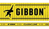 Gibbon Slacklines Classic Line, Gelb, 15 Meter (12,5m Band + 2,5m Ratschenband), für Anfänger, Beginner und Einsteiger, inklusive Ratschenschutz und Ratschenrücksicherung, 50 mm breit, perfekter Freizeitsport - 7