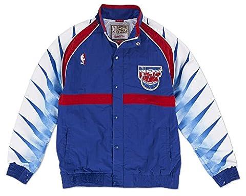 New Jersey Nets Mitchell & Ness NBA Authentic 93-94 Warmup