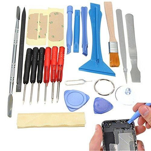 Preisvergleich Produktbild origlam 22in 1Professionelle sicheres Öffnen Pry Tool Reparatur Kit, Mobile Phone Repair Schraubendreher Sucker Handwerkzeuge-Kit mit Diejenigen Nylon Spudger für iPhone, Smart Handy, Laptop