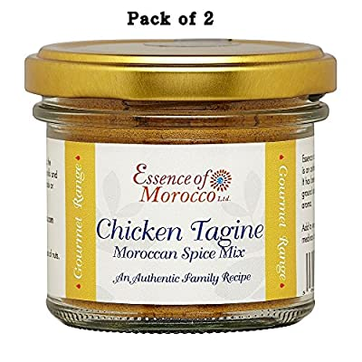 Chicken Tagine Moroccan Spice Mix 100 g (Pack of 2 x 50 g. jars)