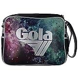 BORSA TRACOLLA GOLA REDFORD COSMIC STAR CUB270R BLACK/SILVER COD. 10024