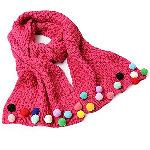 Butterme-Kids-Baby-Girls-Warm-Winter-Scarf-Neck-Warmer-Knitting-Wool-Candy-Colours-Scarves-Christmas-Gift